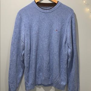 Tommy Hilfiger blue knit sweater